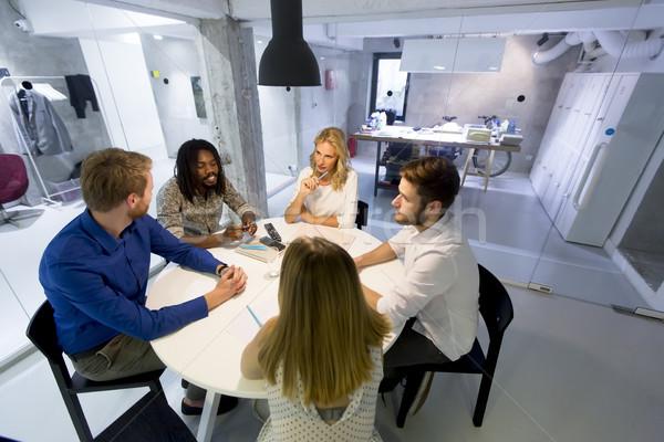 современных бизнес-команды развивающийся стратегия служба Сток-фото © boggy