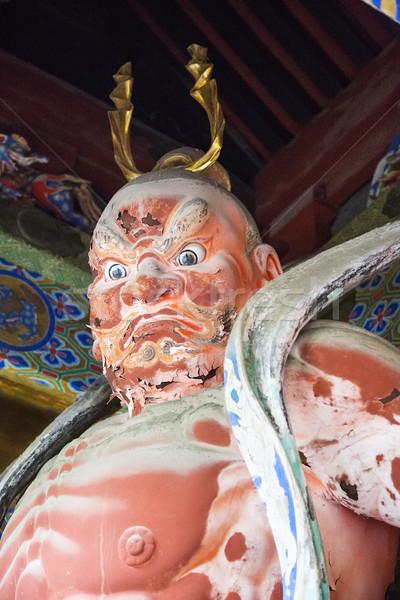храма Япония опекун поклонения Японский Азии Сток-фото © boggy