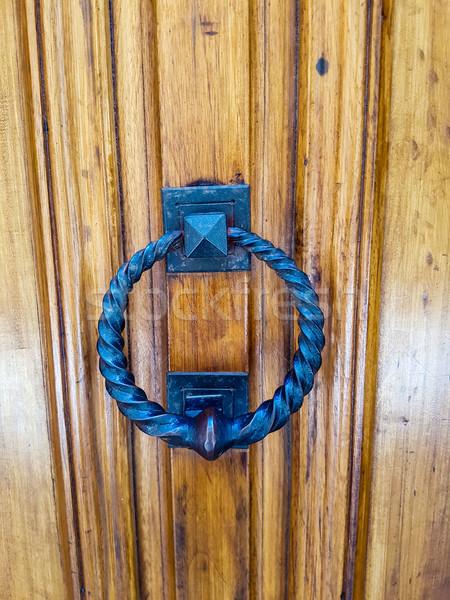 Door knob Stock photo © boggy