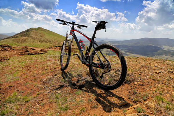 Mountain bicycle Stock photo © boggy
