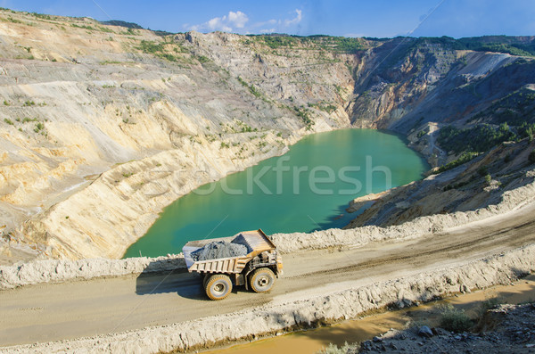 Open pit Stock photo © boggy