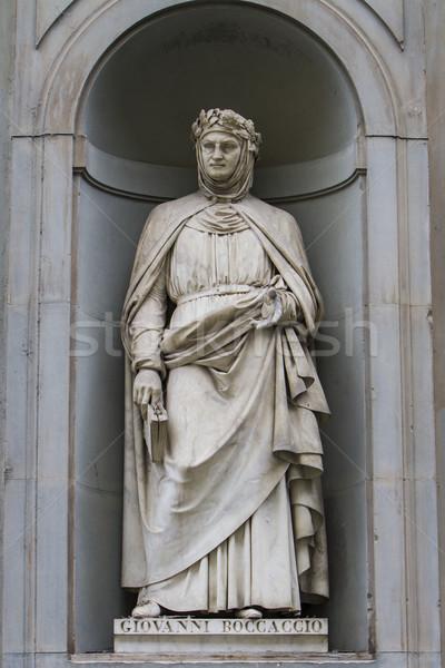 Estátua florence Itália arquitetura galeria toscana Foto stock © boggy