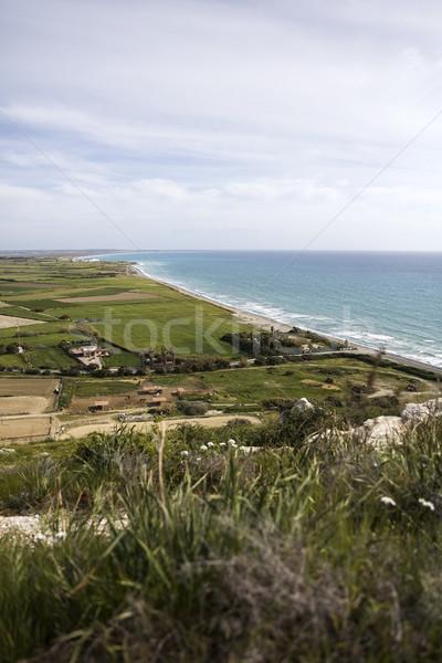 ビーチ キプロス 表示 水 風景 ストックフォト © boggy
