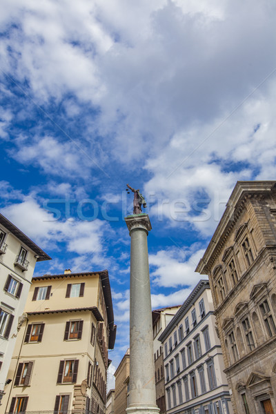 Column of Justice in Florence Stock photo © boggy