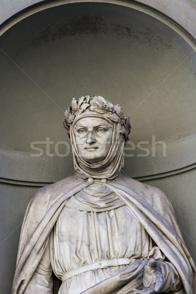 Giovanni Boccaccio statue in Florence Stock photo © boggy