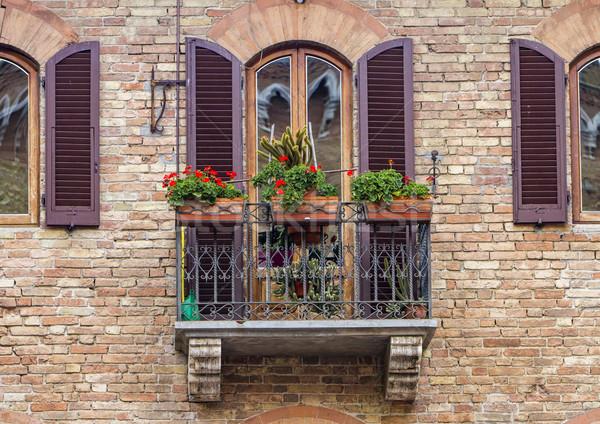 San Gimignano, Italy Stock photo © boggy