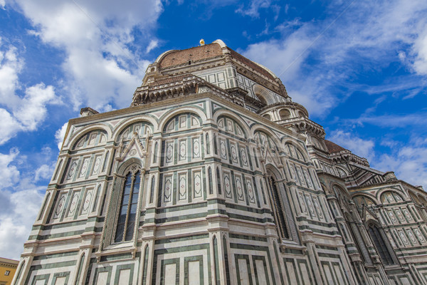 Santa Maria del Fiore catedral in Florence Stock photo © boggy