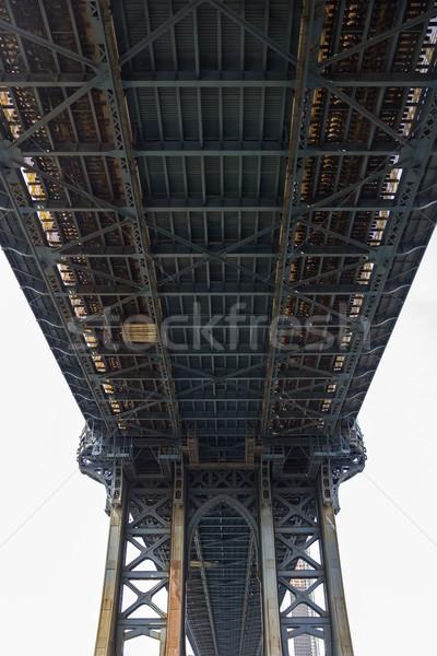 Manhattan köprü New York görmek ABD iş Stok fotoğraf © boggy