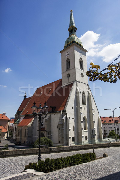 Cathédrale Bratislava Slovaquie église urbaine histoire Photo stock © boggy