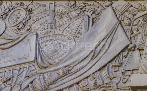 Chiesa di San Pantaleo in Rome, Italy Stock photo © boggy
