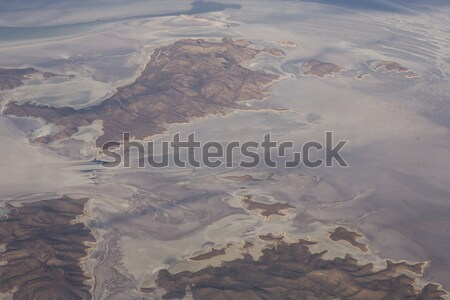 Salt lake Urmia in Iran Stock photo © boggy