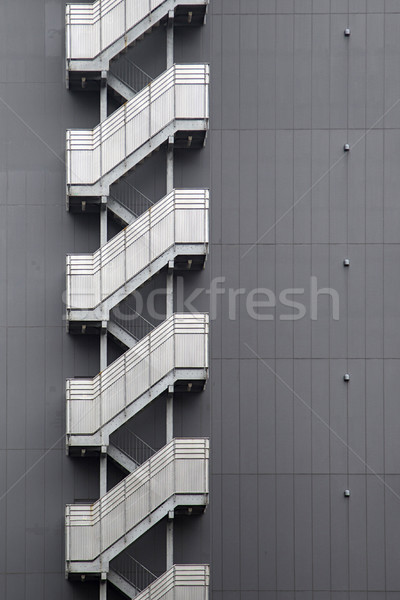 Modern bina detay Tokyo Japonya Bina şehir Stok fotoğraf © boggy
