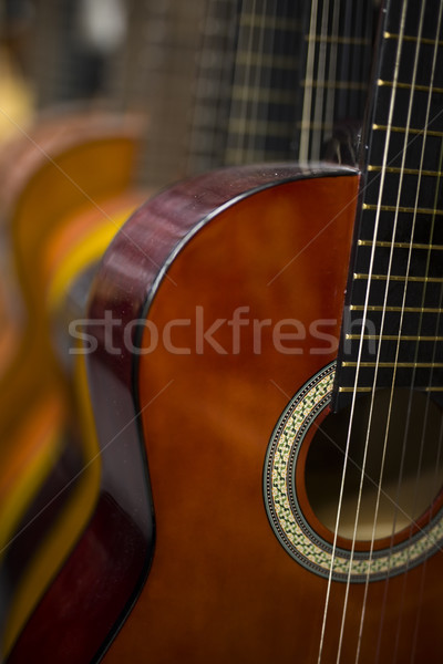 Acoustic guitars Stock photo © boggy