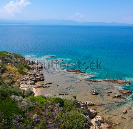 View at Nea Roda at Chalkidiki, Greece Stock photo © boggy
