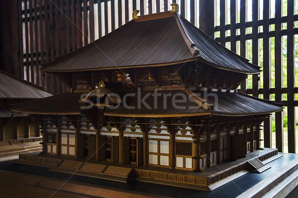 Stockfoto: Tempel · Japan · detail · architectuur · asian · godsdienst