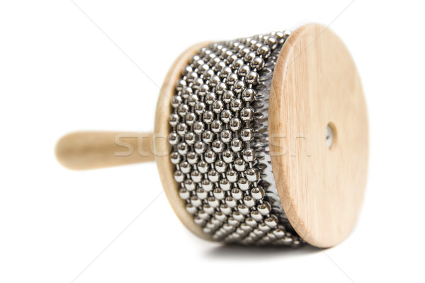 Cabasa percussion instrument Stock photo © boggy