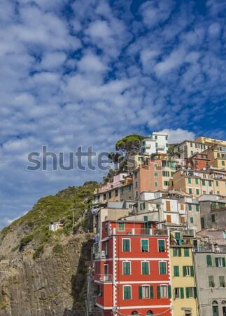 Riomaggiore, Italy Stock photo © boggy