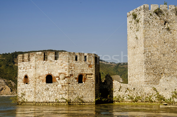 Golubac, Serbia Stock photo © boggy