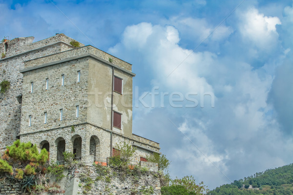 Torre Aurora (Dawn Tower) in Monterosso al mare, Italy Stock photo © boggy