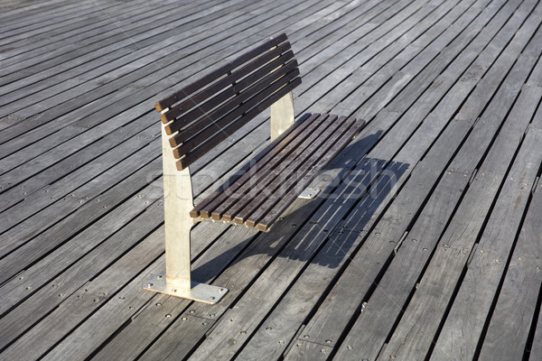 View at bench on the boardwalk Stock photo © boggy