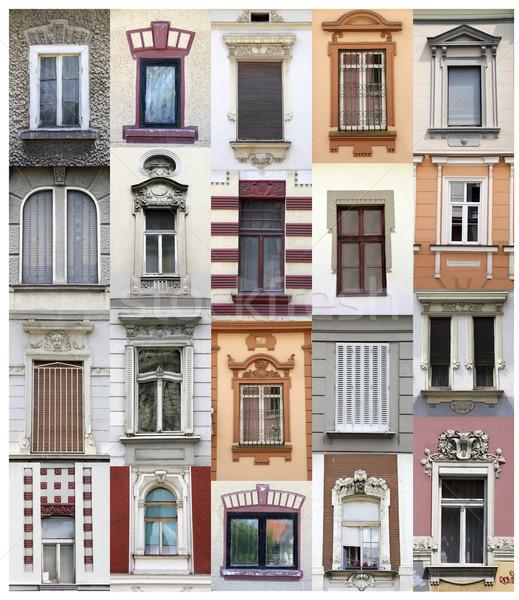 Belgrade windows Stock photo © boggy