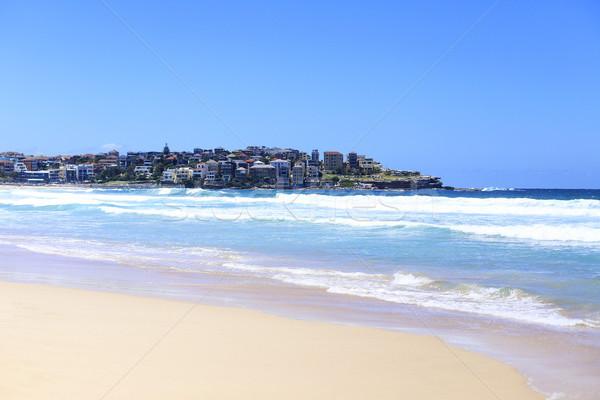 Playa Sydney Australia agua azul viaje Foto stock © boggy