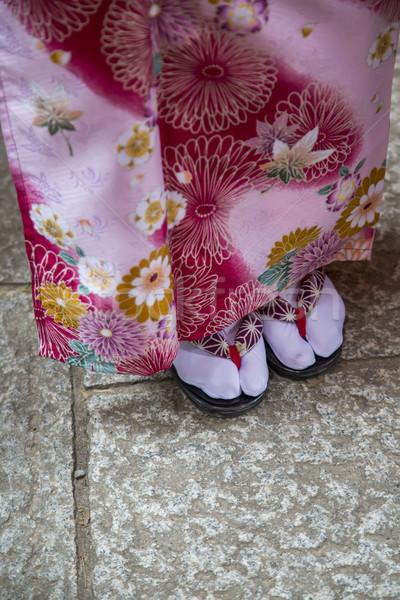 традиционный сандалии святыня Киото Япония женщину Сток-фото © boggy