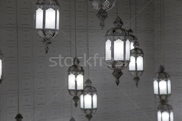 Japanese lanterns, Kyoto Stock photo © boggy