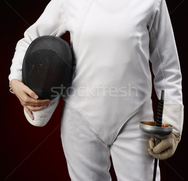 Fencing Stock photo © boggy