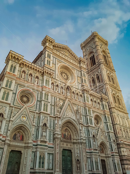 Basilica in Florence Stock photo © boggy