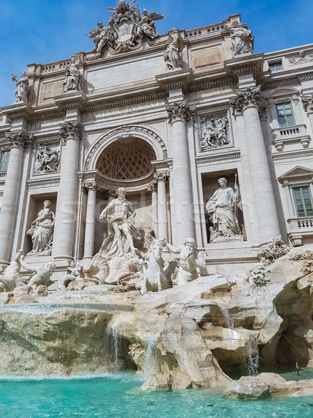 Trevi Fountain in Rome, Italy. Stock photo © boggy