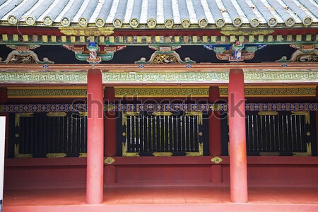 Santuario Giappone dettaglio costruzione architettura Asia Foto d'archivio © boggy
