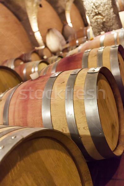 вино старые погреб Winery алкоголя Сток-фото © boggy