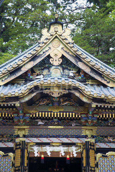 Toshogu shrine in Nikko, Japan Stock photo © boggy
