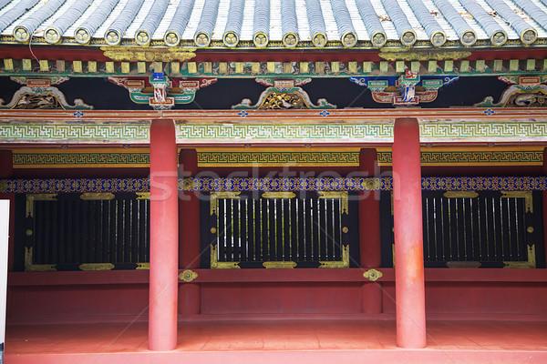 Foto stock: Santuário · Japão · pormenor · edifício · arquitetura · Ásia