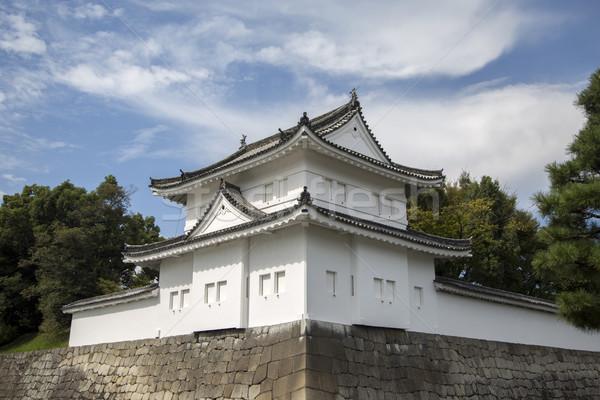 Château kyoto Japon vue bâtiment jardin Photo stock © boggy