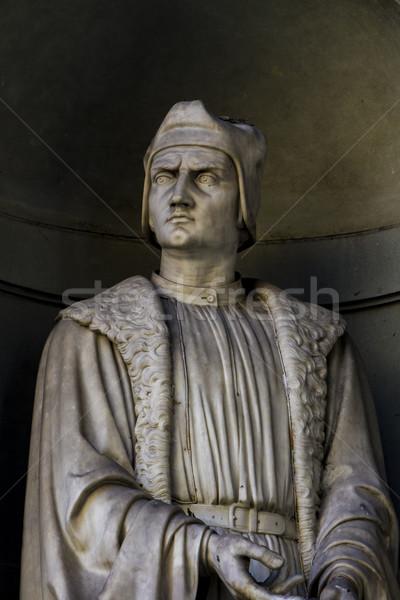 Francesco Guicciardini statue Stock photo © boggy
