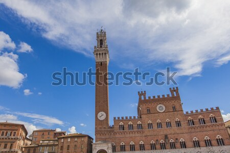 Piazza del Campo in Siena Stock photo © boggy
