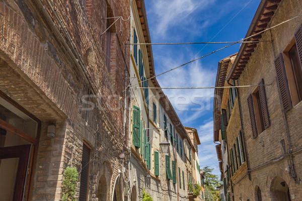 Montalcino Stock photo © boggy