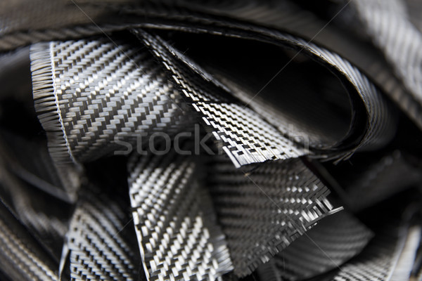 Carbon fibers backdrop Stock photo © boggy