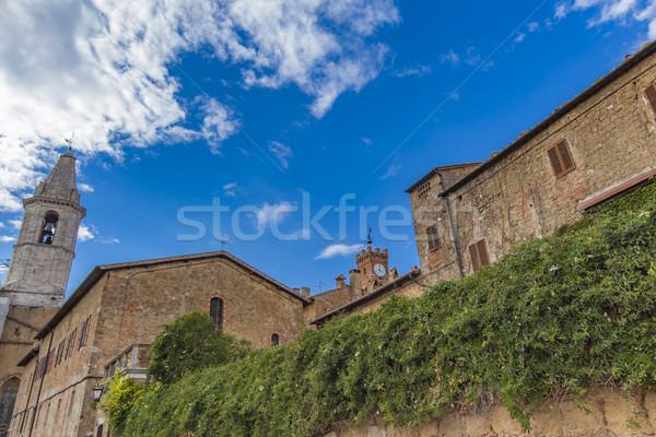 Pienza, Italy Stock photo © boggy