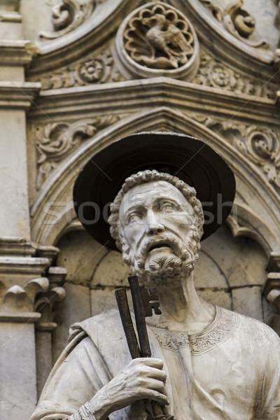 Loggia della Mercanzia in Siena, Italy Stock photo © boggy