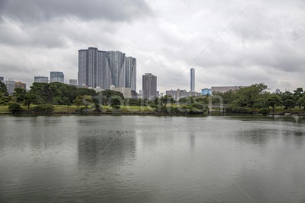 Tuinen Tokio Japan detail stad natuur Stockfoto © boggy