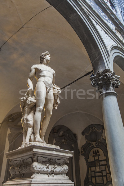 Palazzo Medici Riccardi in Florence, Italy Stock photo © boggy