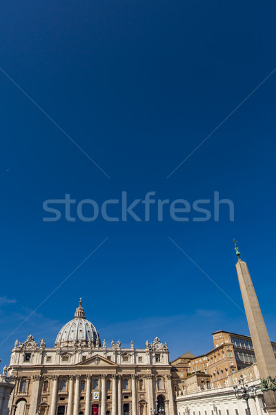 Piazza vaticano dettaglio città culto antica Foto d'archivio © boggy