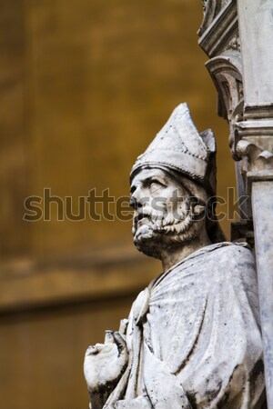 Loggia della Mercanzia in Siena, Italy Stock photo © boggy