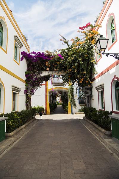 Espanha tradicional edifícios urbano arquitetura Foto stock © boggy