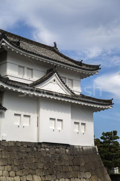 Nijo Castle in Kyoto, Japan Stock photo © boggy