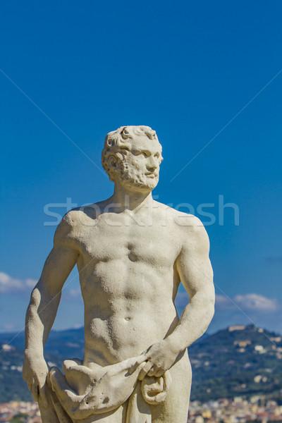 Giardino Bardini in Florence Stock photo © boggy