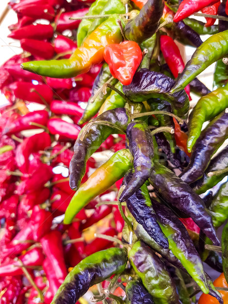 Cayenne pepper Stock photo © boggy